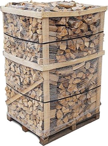 800 kg Brennholz Kaminholz reine Buche sauber auf der Palette frei Haus in 30-33 cm Länge