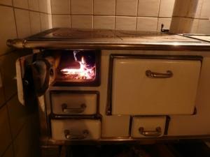 küchenofen für kaminholz